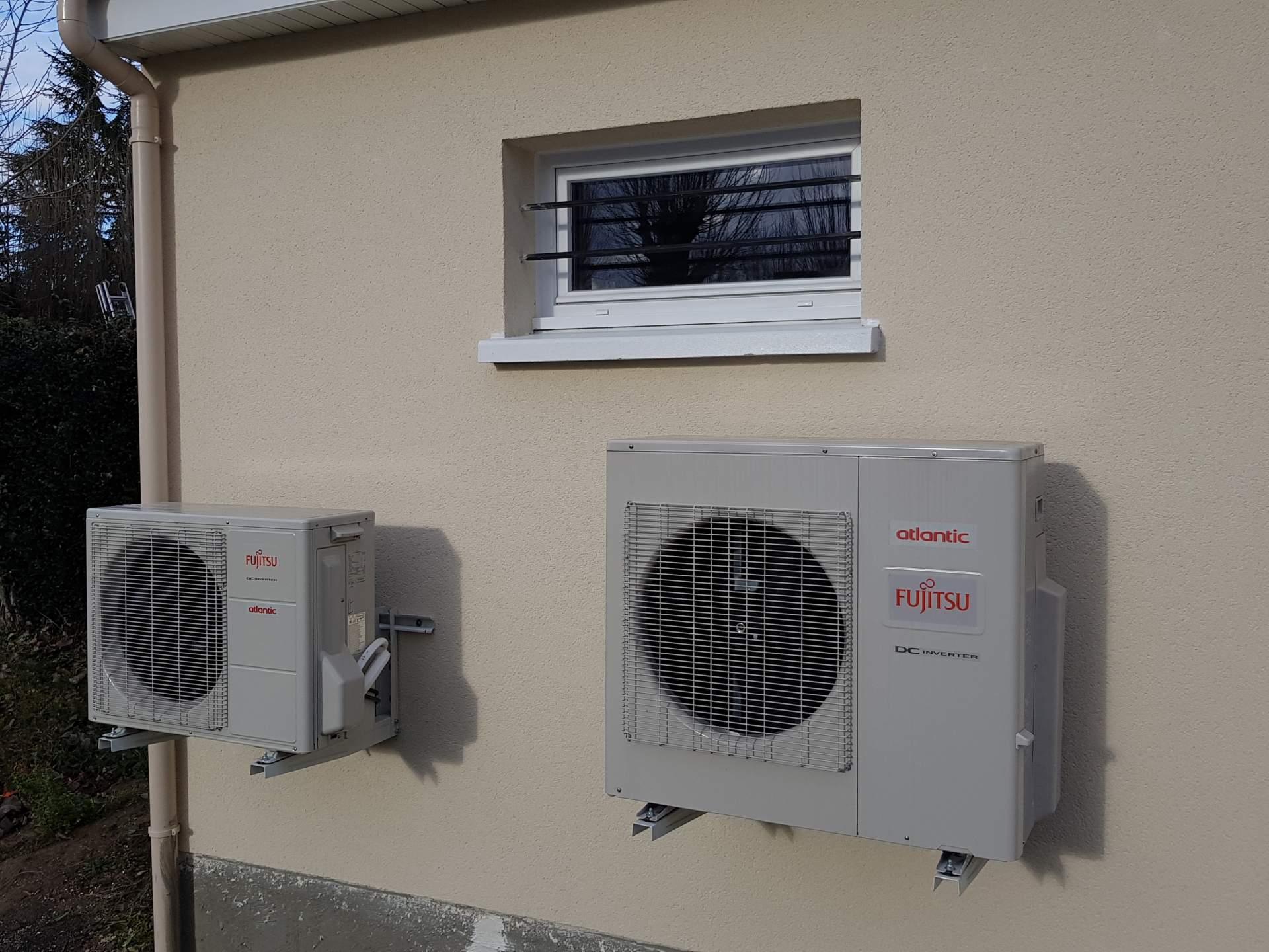système de climatisation Oise